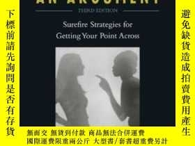 二手書博民逛書店How罕見To Win An Argument-如何贏得爭論Y436638 Michael A. Gilber