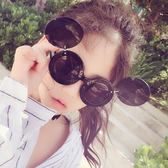 兒童太陽鏡寶寶墨鏡防曬遮陽雙層男童女童時尚翻蓋兩用小孩眼鏡【全館免運八五折】