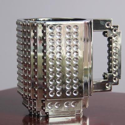 【Miss Sugar】LEGO樂高積木隨手馬克DIY組裝咖啡杯水杯(特殊色)
