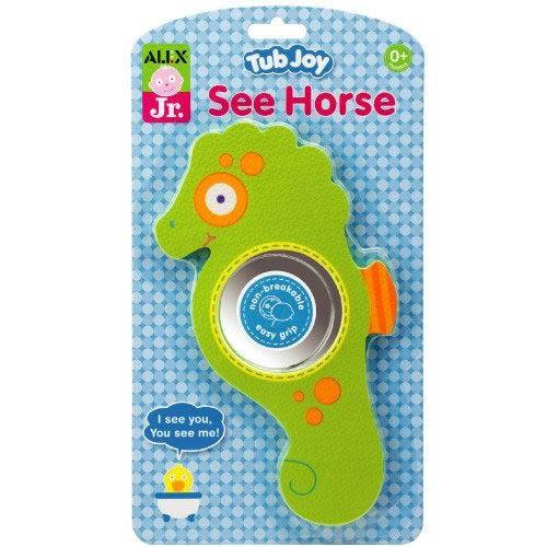 【奇買親子購物網】美國ALEX 寶寶浴室海馬鏡