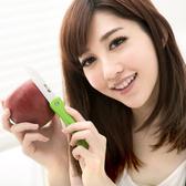 JoyLife 絢彩輕巧陶瓷摺疊刀水果刀-馬卡龍綠(MF0227G)