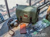 相機包 相機包單反6斜背復古微單包便攜防水攝影包單肩女帆布 傾城小鋪