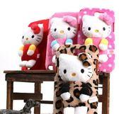 ※三麗鷗授權㊣ Hello Kitty 凱蒂貓 Apple iPhone 5 立體布偶手機背蓋 軟殼 背蓋 絨質背蓋
