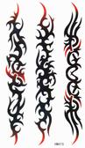 薇嘉雅  長條型圖騰 紋身貼紙 HM415