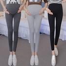 漂亮小媽咪 內搭褲 【L0004】 純色 高腰托腹 腰圍可調 孕婦長褲 孕婦裝 孕婦內搭褲 []