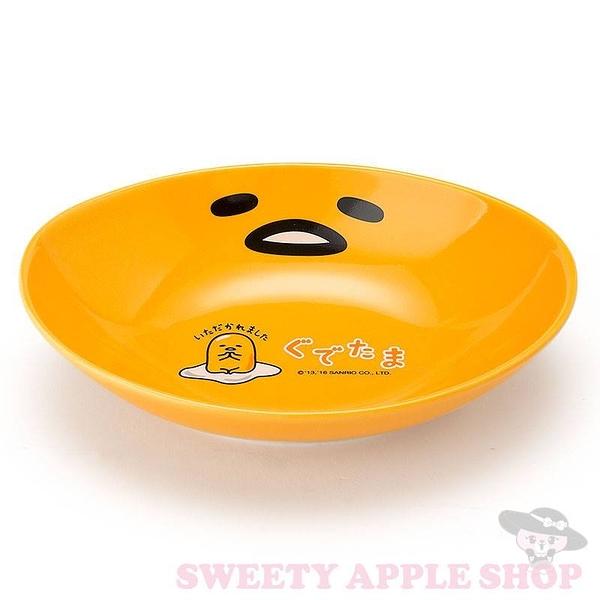 日本製 日本限定 三麗鷗  蛋黃哥 陶瓷 餐盤 (小)