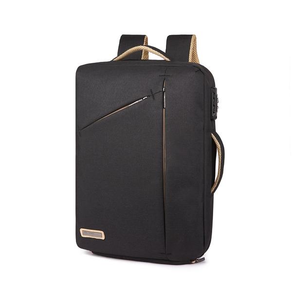 2021最新手提雙肩包-黑色 背包/電腦包/公事包/商務包/雙肩包/筆電包/休閒包/時尚
