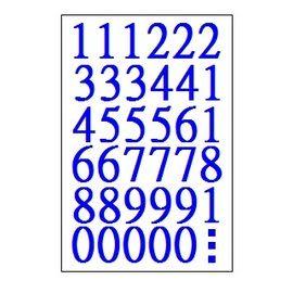 華麗牌數字標籤WL-2061/包