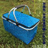 30L大號外賣快餐包 車載保溫包 戶外野餐 保溫送餐箱 折疊購物籃igo   良品鋪子