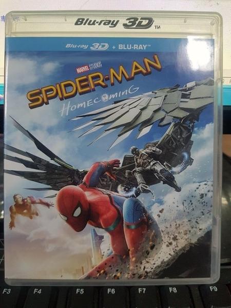 挖寶二手片-Q04-178-正版BD【蜘蛛人:返校日 3D單碟】-藍光電影(直購價)海報是影印