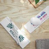 硅藻泥洗漱杯墊洗手台防水墊皂托電動牙刷胡須刀硅藻土皂架吸水墊22.5*7cm