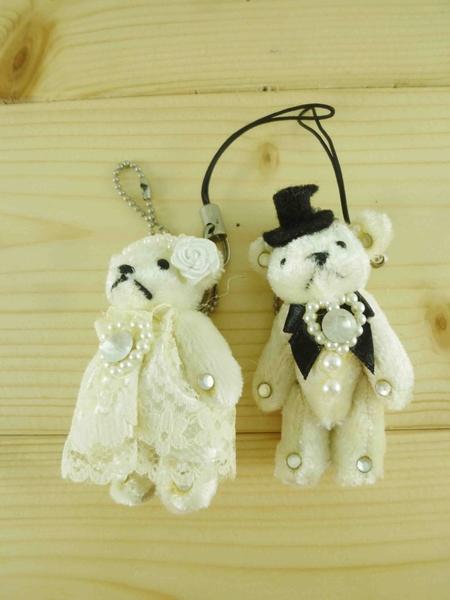 【震撼精品百貨】泰迪熊_Teddy Bear~吊飾-結婚