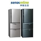 Panasonic 468公升三門變頻鋼板電冰箱(絲紋黑/絲紋灰) NR-C479HV-V/L