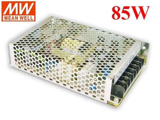 明緯MW 5V/10A 12V/5A 85W RD-85A 機殼型(Enclosed Type)交換式電源供應器