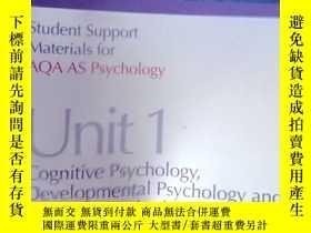 二手書博民逛書店Aqa罕見Psychology as Unit 1, . Cog