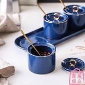 調料盒陶瓷調料罐子調味罐廚房家用北歐調料廚房收納【匯美優品】