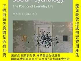 二手書博民逛書店Conceptual罕見Metaphor in Social Psychology: The Poetics of