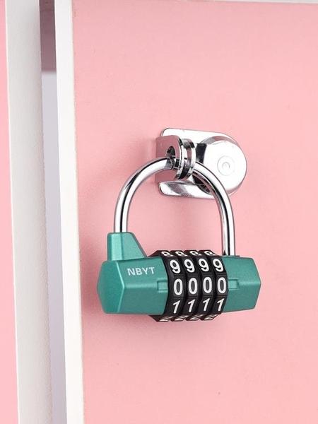 NBYT機械櫃門健身學生宿舍公寓更衣櫃子抽屜大門防盜密碼鎖頭掛鎖 格蘭小鋪