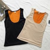 DE shop - 內搭黃金絨無袖刷毛保暖背心 - HL-1706