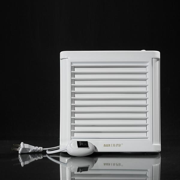 排氣扇 特價百葉4寸衛生間浴室排風扇壁式窗式帶開關排氣扇抽風機單向 交換禮物