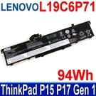 LENOVO L19C6P71 . 電池 L19L6P71 ThinkPad P15 P17 T15G Gen 1 系列