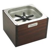 金時代書香咖啡  TIAMO 洗杯器渣桶附木盒(中)  BC2408
