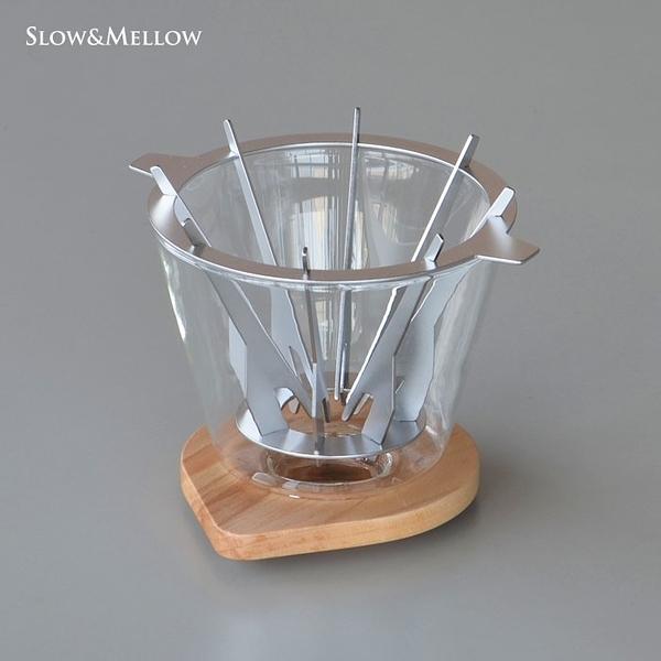 【沐湛咖啡】日本 Slow&Mellow 垂直濾杯 1-2人錐形濾杯