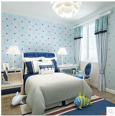 夏洛克超纖環保無紡布粉色壁紙女孩臥室