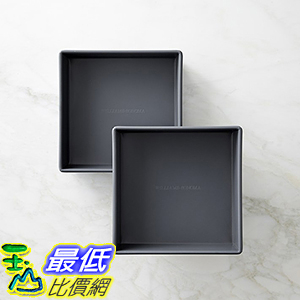 [美國直購] Williams-Sonoma Protouch Nonstick Square Cake Pan (Set of 2) 烤盤