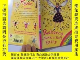 二手書博民逛書店rebecca罕見the rock n roll fairy 搖滾仙女麗貝卡Y200392