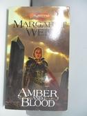 【書寶二手書T1/原文小說_AM9】Amber and Blood_Weis, Margaret