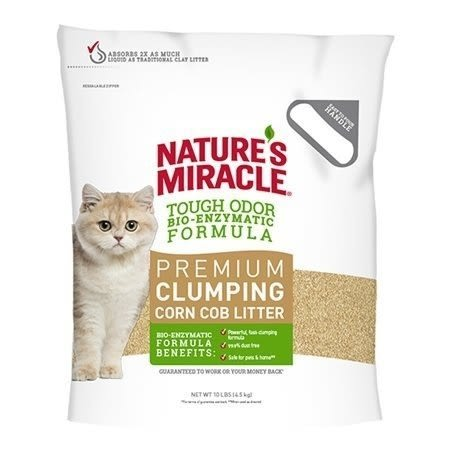 *WANG*【單包】【53107】8in1《自然奇蹟-酵素環保玉米貓砂》10磅