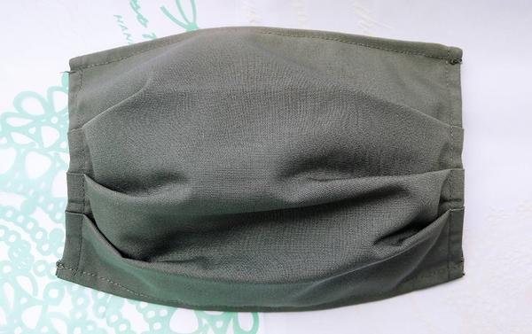 【2004103】口罩布套(灰色)1入 側面可放醫用口罩 台灣手工製作 防塵口罩 防護口罩