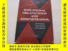 二手書博民逛書店Educational罕見Organization and Ad
