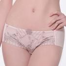 LADY 凡爾賽玫瑰系列 低腰平口褲(玫瑰膚)