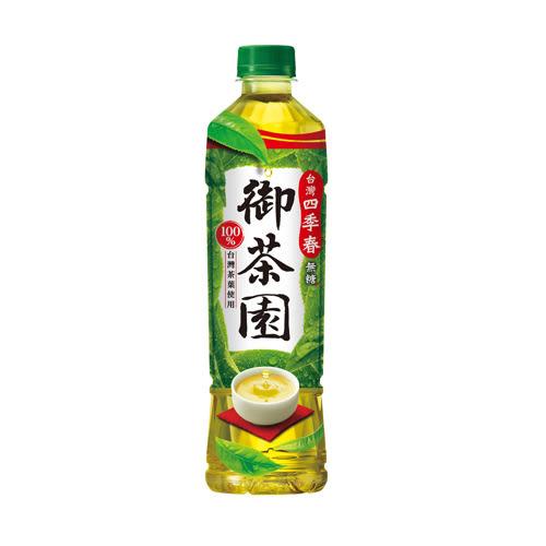御茶園台灣四季春茶PET550ml*4【愛買】