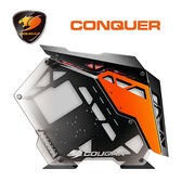 【COUGAR 美洲獅】Conquer 機箱 改裝玩家夢想中的終極傑作 出類拔萃