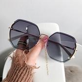 2021年新款ins墨鏡女偏光太陽眼鏡GM韓版潮圓臉防紫外線大臉顯瘦 一米陽光