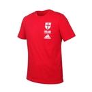 ADIDAS 男足球短袖T恤(純棉 亞規 休閒 上衣 英國 慢跑 愛迪達≡體院≡ FK3570