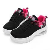 PLAYBOY 彩織氣墊 輕量運動鞋-黑桃(Y5283黑桃)