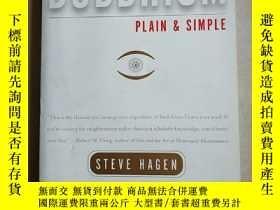 二手書博民逛書店英文原版罕見Buddhism Plain and Simple: