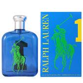 RALPH LAUREN BIG PONY #1 馬球男性淡香水-運動款 125ml