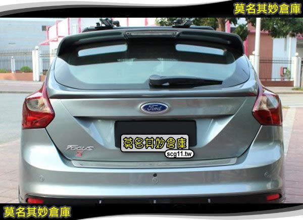 莫名其妙倉庫【FU009 中尾翼5D】2013 Ford New Focus MK3 ST RS 5D 中尾翼壓尾鴨尾