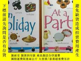 二手書博民逛書店MY罕見FIRST WORD BOOK 《AT PARTY》《O