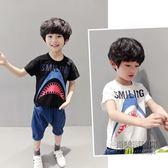 ✡清涼一夏✡ 短袖T恤中大上衣男孩純棉體恤韓版潮