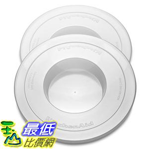 [美國直購] KitchenAid KNBC 攪拌機配件 蓋子 2入 Bowl Covers for 6QT KV25G KP26M1X