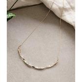 日本phoebe 曲折金屬項鍊 金