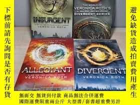 二手書博民逛書店Divergent罕見Series Complete Box Set [分歧者系列1-3套裝]Y211464