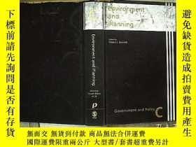 二手書博民逛書店Environment罕見and Planning 環境與規劃(