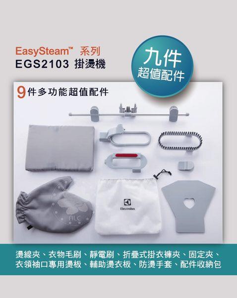 【伊萊克斯 Electrolux】ErgoSteam掛燙機 (EGS2103)